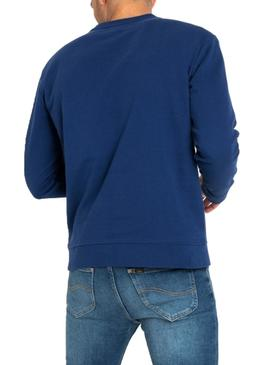 Sweatshirt Lee Logo Blaue Herren