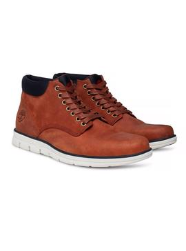 Stiefelettes Timber Chukka braun