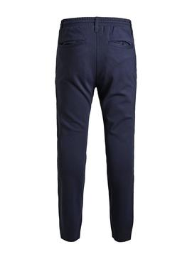 Hose Jack And Jones Vega Marine Blau Junge