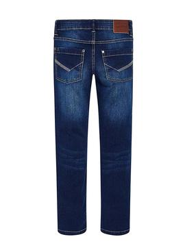 Jeans Mayoral Slim Fit marine Junge