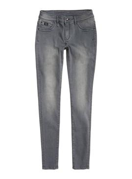 Jeans Superdry Alexia Grey Woman