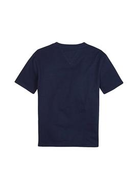 T-Shirt Tommy Hilfiger - Essential - Boxy Flag Mar