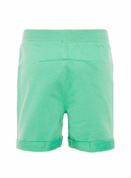 Shorts Name It Paw Mini Grün Junge