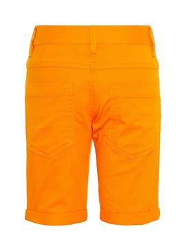 Shorts Name it Sofus Mini Orange für Junge