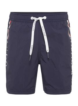 Swinsuit Tommy Hilfiger Kids Drawstring Navy