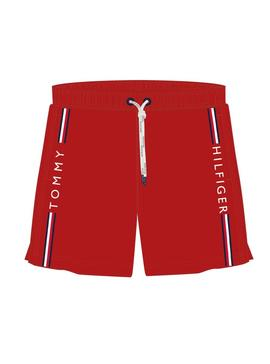 Swinsuit Tommy Hilfiger Kids Drawstring Red