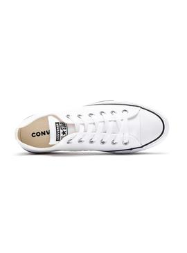 Sneaker Converse All Star Plattform Weiß Damen