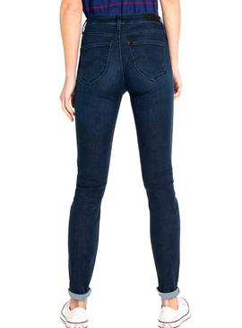 Jeans Lee Scarlett High Indigo Damen