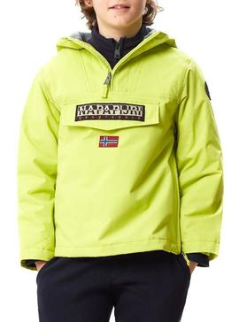 Jacke Napapijri Rainforest Winter Yellow Kids