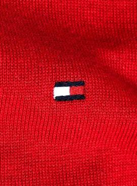 Pullover Tommy Hilfiger Organic Cotton Silk Rot