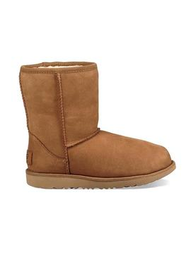 Stiefelettes UGG Classics Short II Chestnut Camel