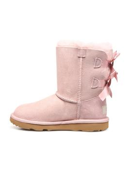 Stiefelettes UGG Bailey Bow II Pink Mädchen