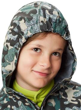 Jacket Napapijri Rainforest Camouflage For Boy