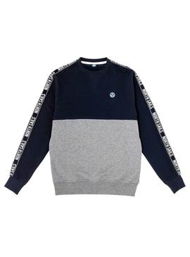 Sweatshirt North Sails Tape Grau Herren