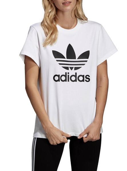 boyfriend trefoil t shirt adidas herren