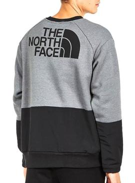 Pullover The North Face Graphic Grau Herren