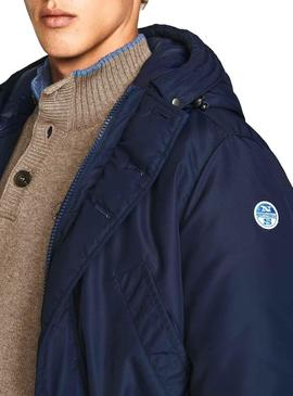 Parka North Sails Cardiff Marineblaue Herren