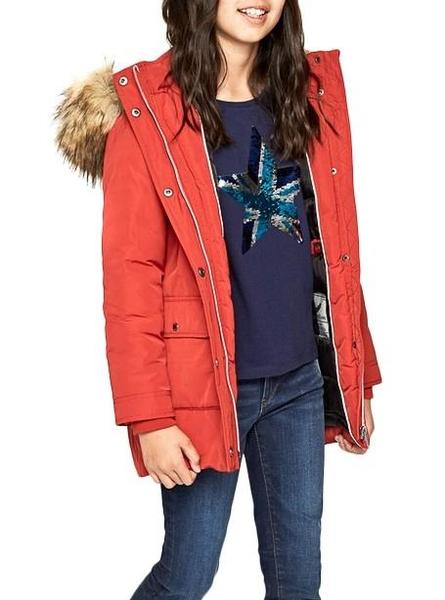 Mantel Pepe Jeans Honey Rot Mädchen