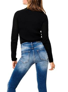 Pullover Only Fjess Black Für Damen