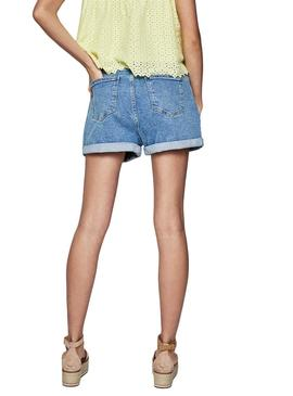 Shorts Pepe Jeans Bazile Denim Frauen