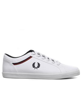 Sneaker Fred Perry Baseline Canvas Weiss