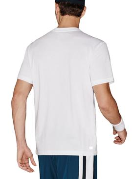 T- Shirt Lacoste Sport TH7618 Weiß