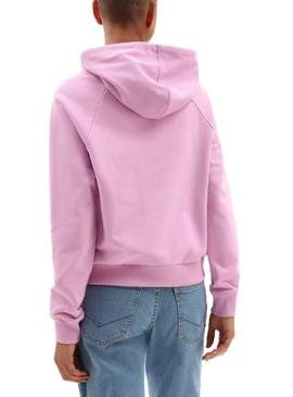 Sweatshirt Vans Flying V Boxy Rosa für Damen