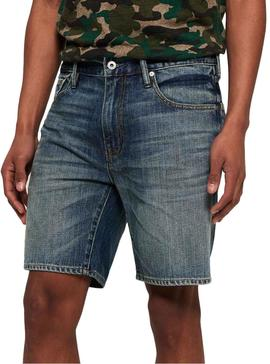 Shorts Superdry Conor Denim Herren