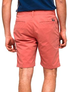 Shorts Superdry International Coral Herren