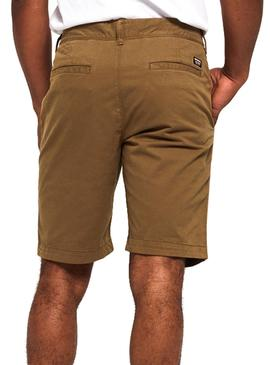 Shorts Superdry International Braune Herren