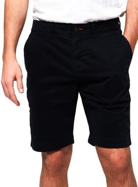Shorts Superdry International Marine Blau Man